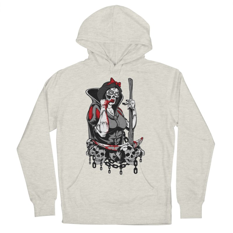 Snow White Women's Pullover Hoody by fishark's Artist Shop