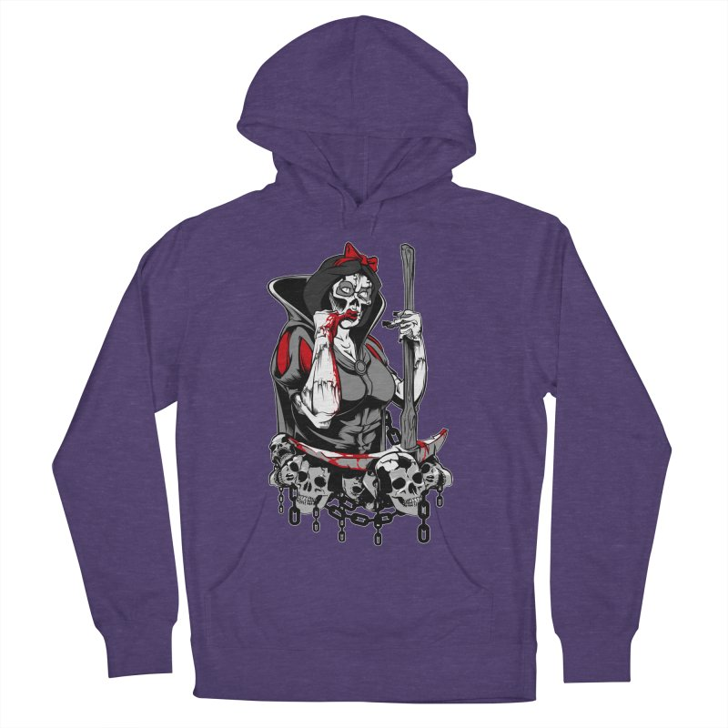 Snow White Men's Pullover Hoody by fishark's Artist Shop