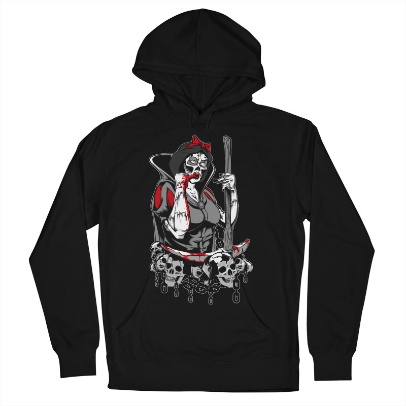 Snow White Men's Pullover Hoody by fishark's Artist Shop