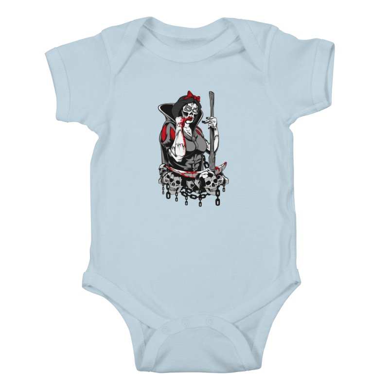 Snow White Kids Baby Bodysuit by fishark's Artist Shop