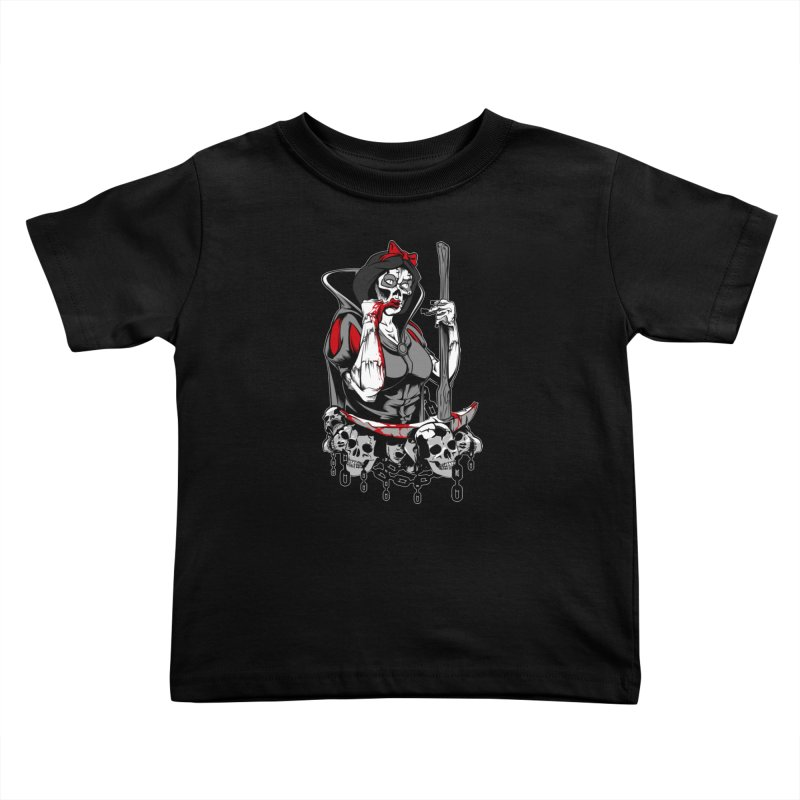 Snow White Kids Toddler T-Shirt by fishark's Artist Shop