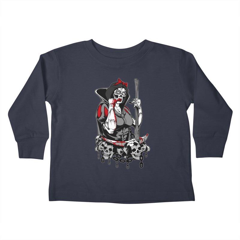 Snow White Kids Toddler Longsleeve T-Shirt by fishark's Artist Shop