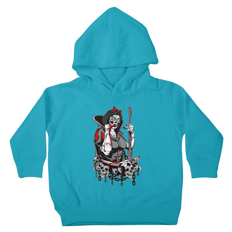 Snow White Kids Toddler Pullover Hoody by fishark's Artist Shop
