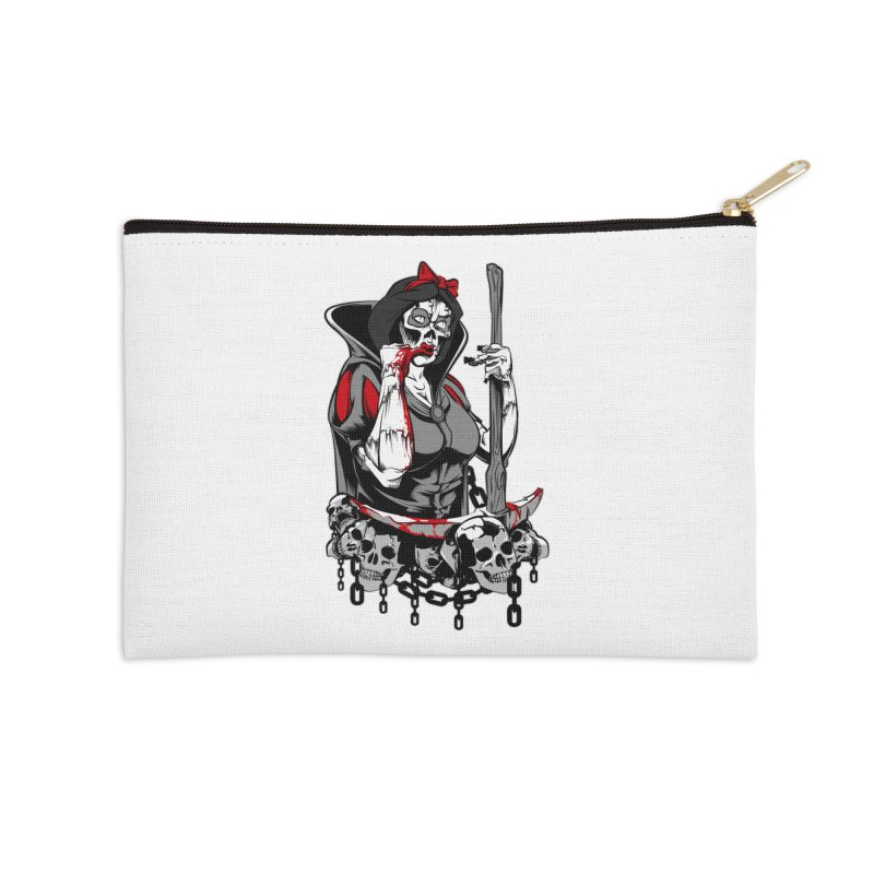 Snow White Accessories Zip Pouch by fishark's Artist Shop