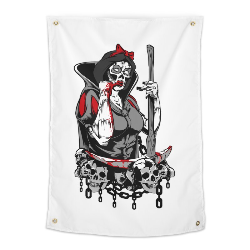 Snow White Home Tapestry by fishark's Artist Shop