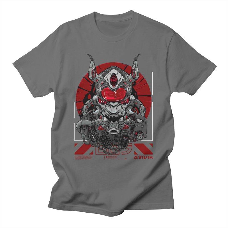 Cyber Samurai Men's T-Shirt by fishark's Artist Shop