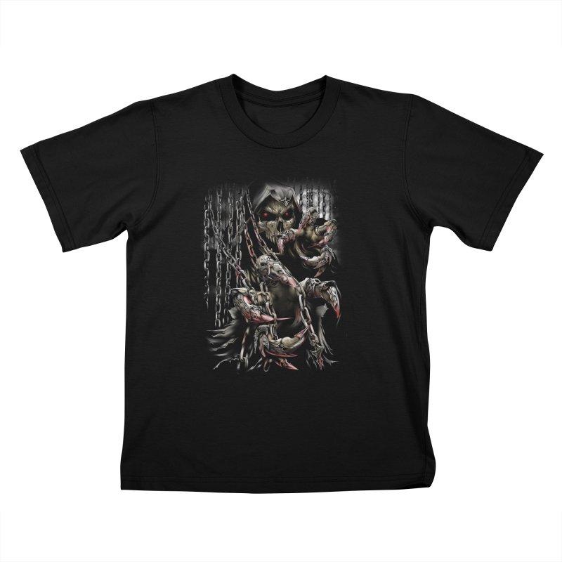daemon Kids T-Shirt by fishark's Artist Shop