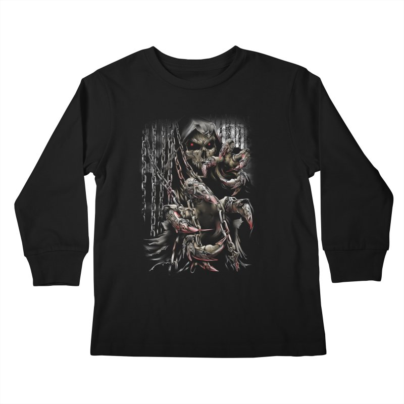 daemon Kids Longsleeve T-Shirt by fishark's Artist Shop