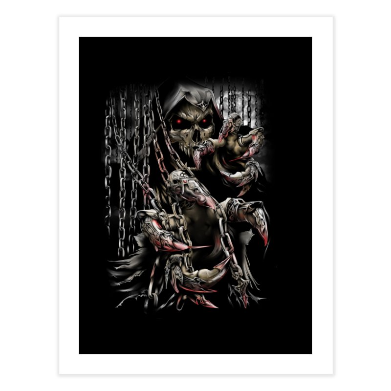 daemon Home Fine Art Print by fishark's Artist Shop