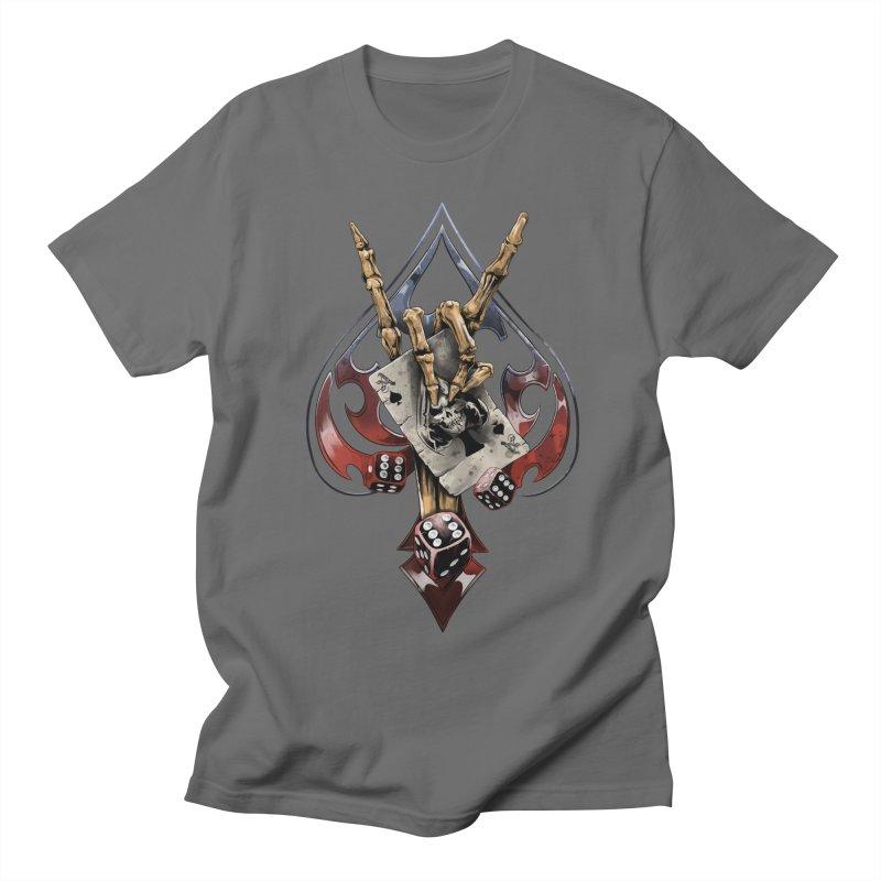 ROCK Men's T-Shirt by fishark's Artist Shop