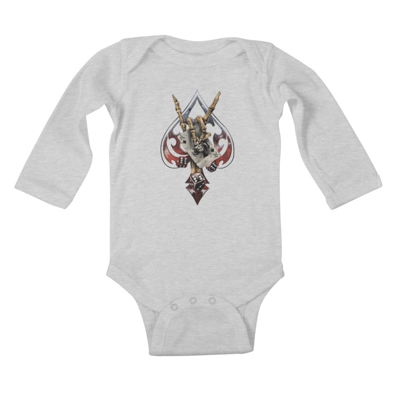 ROCK Kids Baby Longsleeve Bodysuit by fishark's Artist Shop