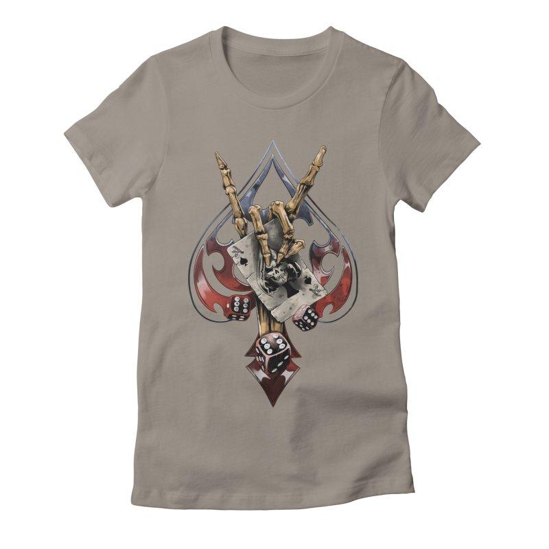 ROCK Women's T-Shirt by fishark's Artist Shop