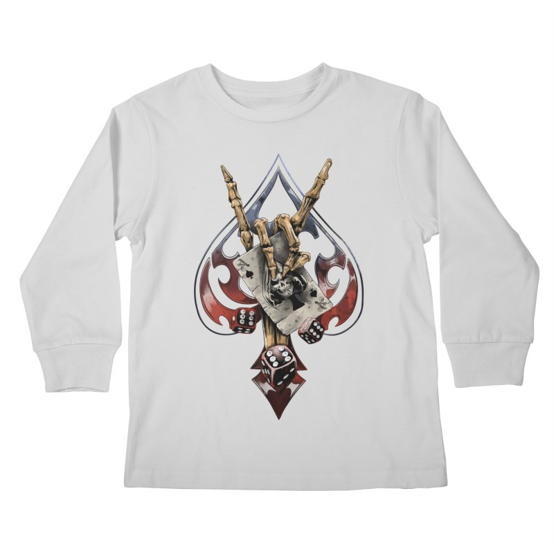 ROCK Kids Longsleeve T-Shirt by fishark's Artist Shop