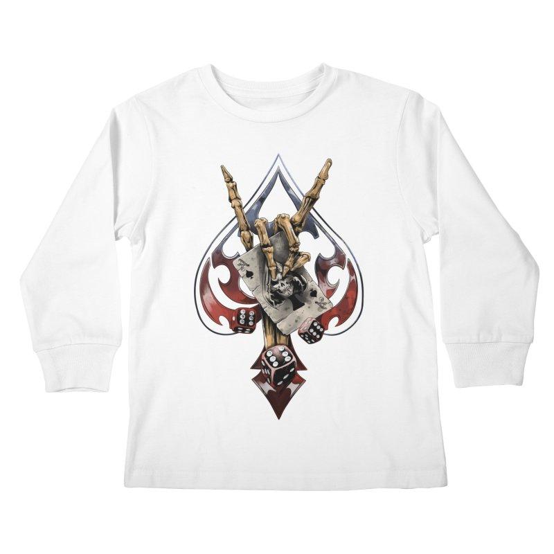 ROCK Kids Longsleeve T-Shirt by fishark's Artist Shop