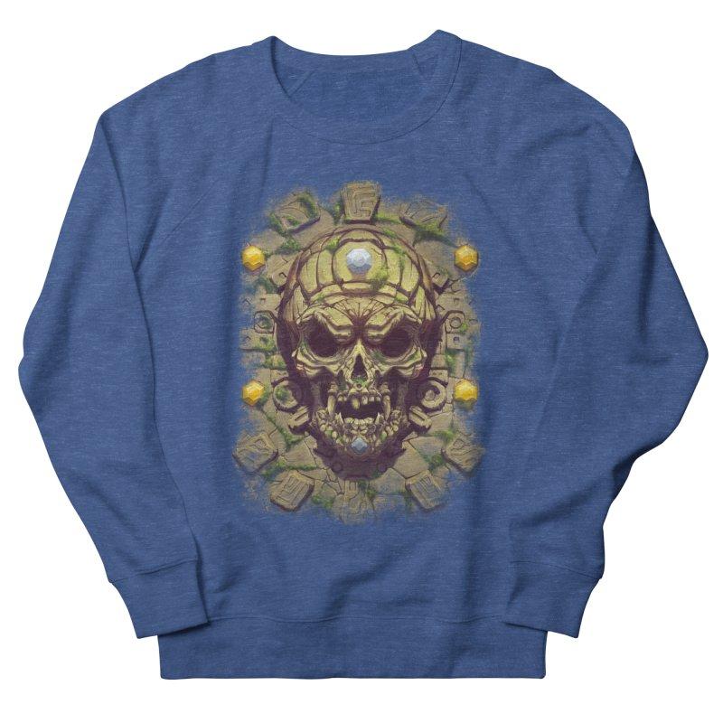 skull aztec Men's Sweatshirt by fishark's Artist Shop