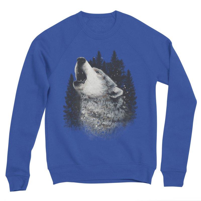 wolf Women's Sweatshirt by fishark's Artist Shop
