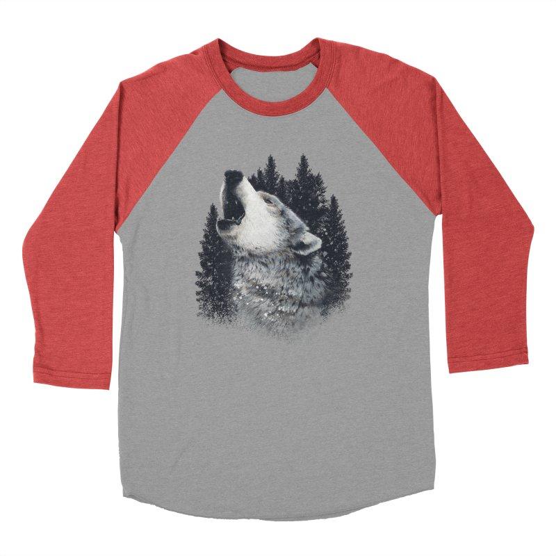 wolf Men's Longsleeve T-Shirt by fishark's Artist Shop