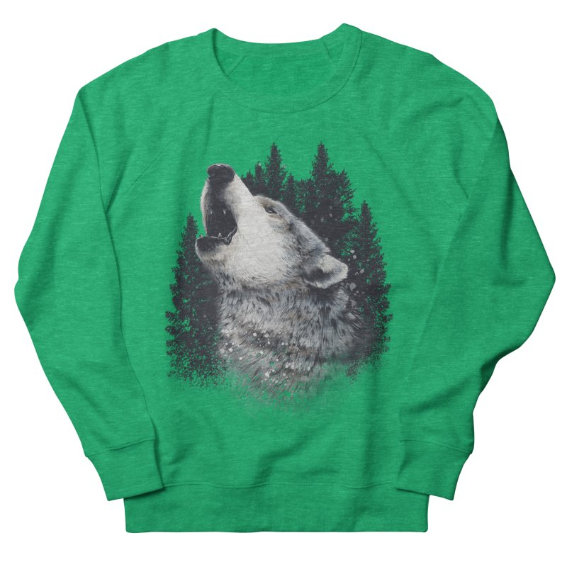 wolf Women's Sweatshirt by fishark's Artist Shop