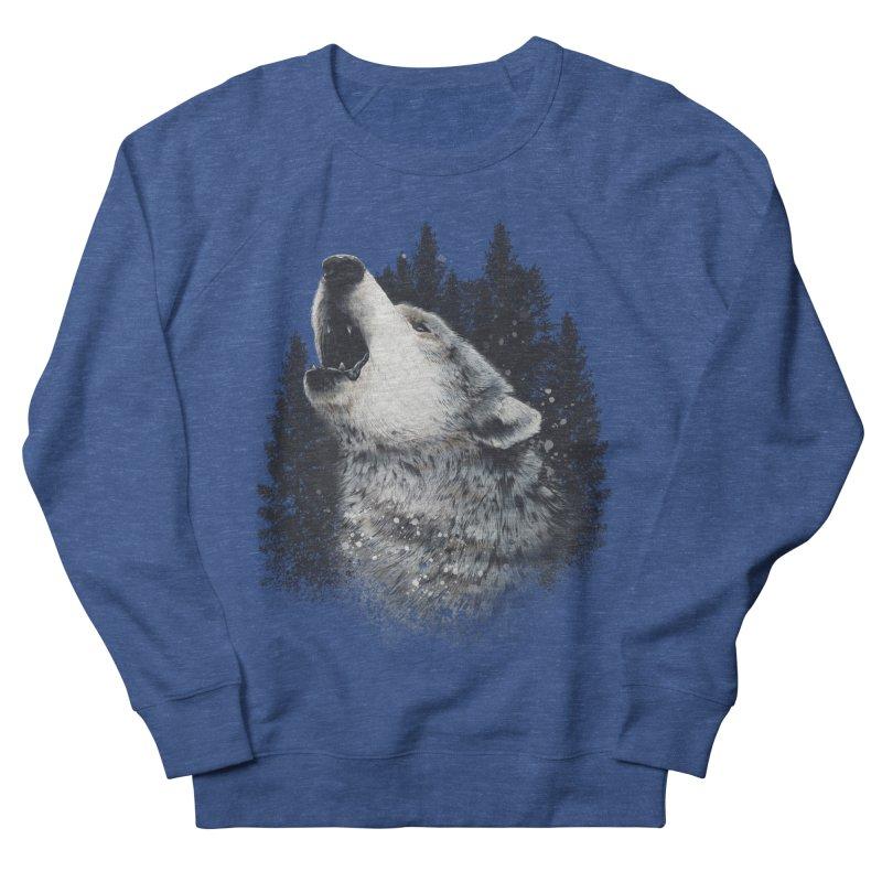 wolf Men's Sweatshirt by fishark's Artist Shop