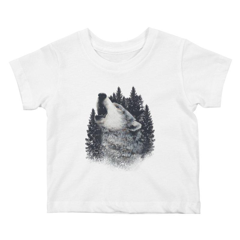 wolf Kids Baby T-Shirt by fishark's Artist Shop