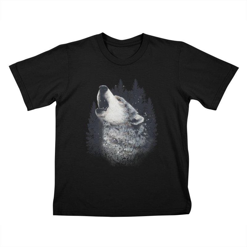 wolf Kids T-Shirt by fishark's Artist Shop