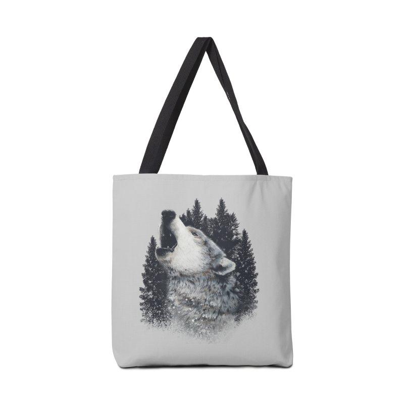 wolf Accessories Bag by fishark's Artist Shop