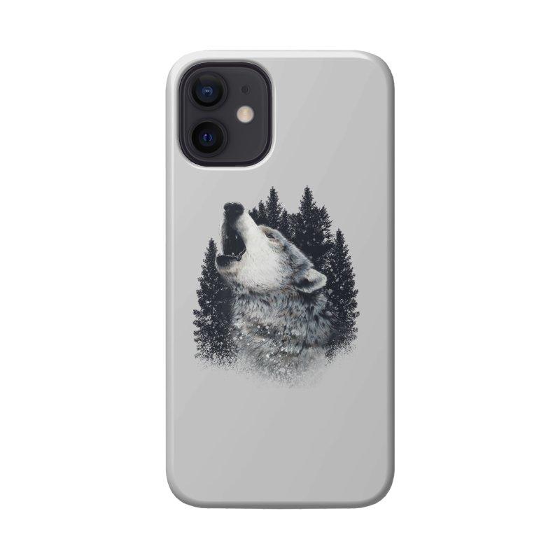 wolf Accessories Phone Case by fishark's Artist Shop