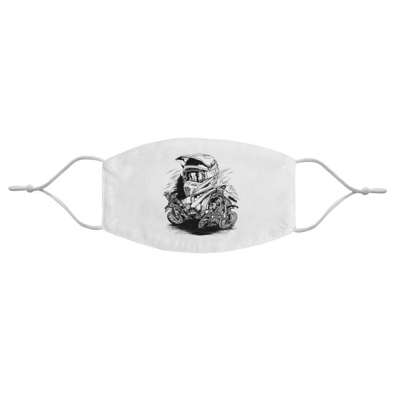 Enduro Accessories Face Mask by fishark's Artist Shop