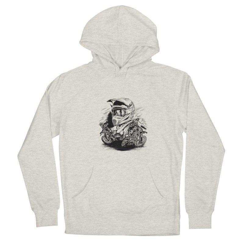 Enduro Men's Pullover Hoody by fishark's Artist Shop