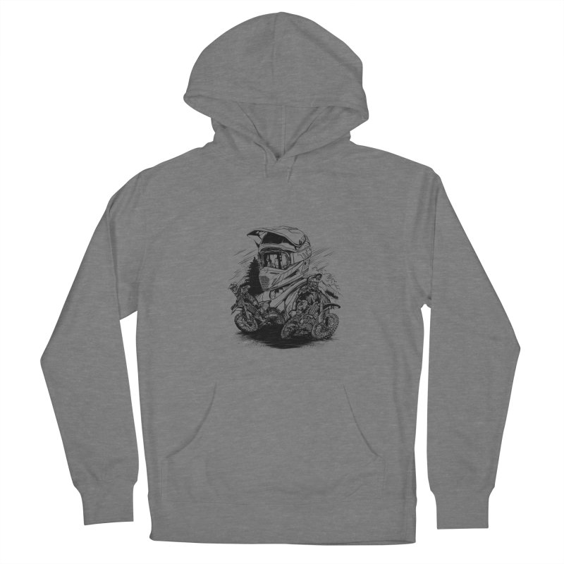 Enduro Women's Pullover Hoody by fishark's Artist Shop