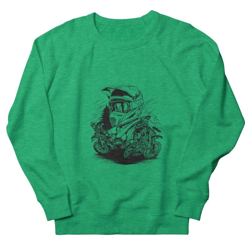 Enduro Women's Sweatshirt by fishark's Artist Shop
