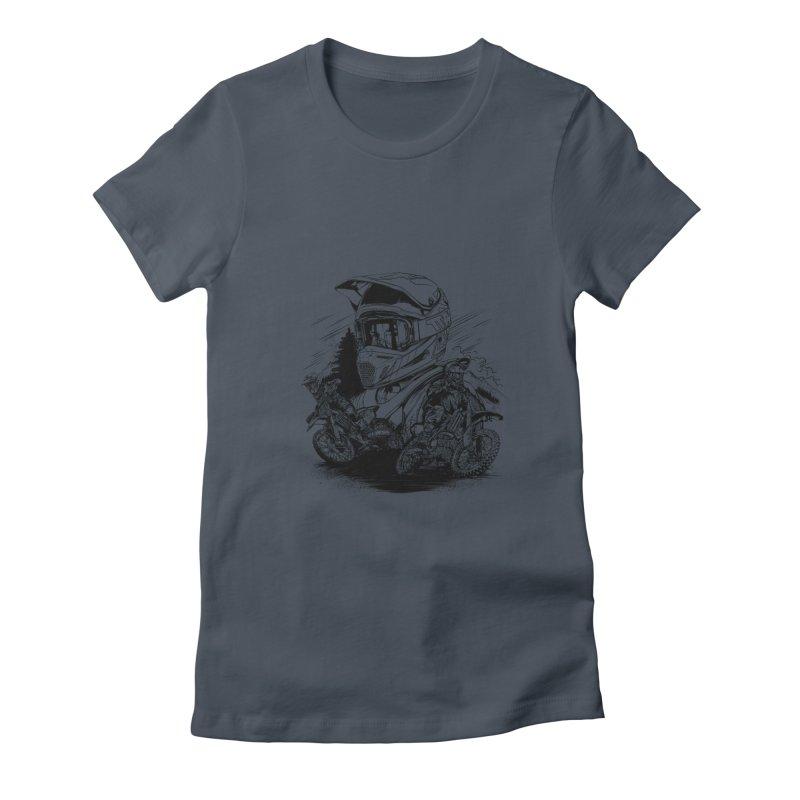 Enduro Women's T-Shirt by fishark's Artist Shop