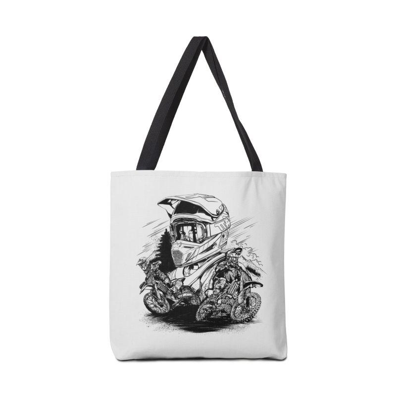 Enduro Accessories Bag by fishark's Artist Shop