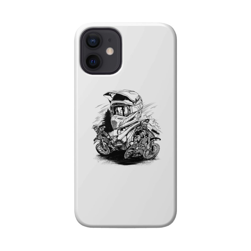 Enduro Accessories Phone Case by fishark's Artist Shop