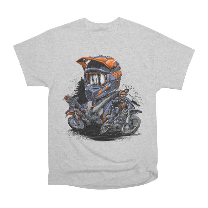 Enduro Men's T-Shirt by fishark's Artist Shop