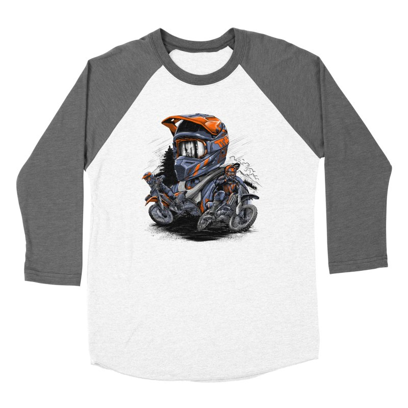 Enduro Women's Longsleeve T-Shirt by fishark's Artist Shop