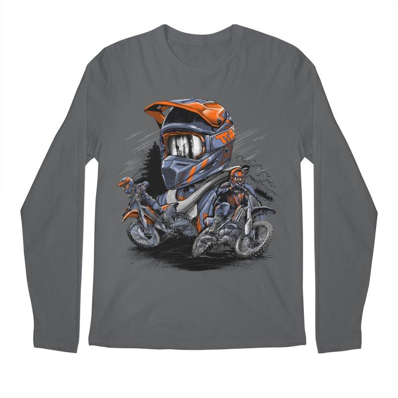 Enduro Men's Longsleeve T-Shirt by fishark's Artist Shop