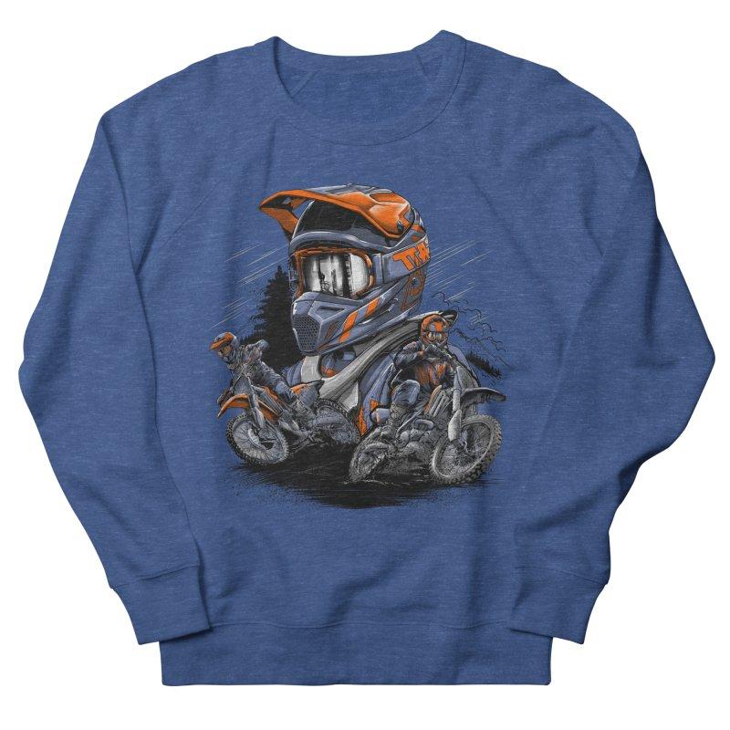 Enduro Men's Sweatshirt by fishark's Artist Shop