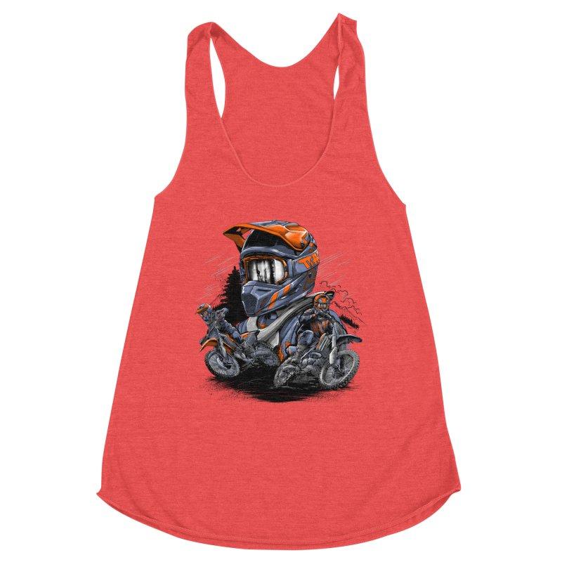 Enduro Women's Tank by fishark's Artist Shop