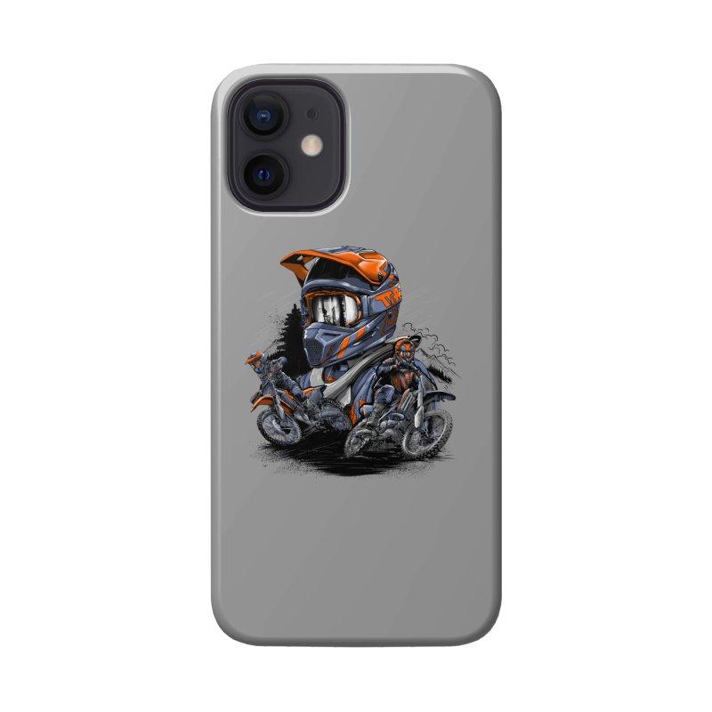 Enduro Accessories Phone Case by fishark's Artist Shop