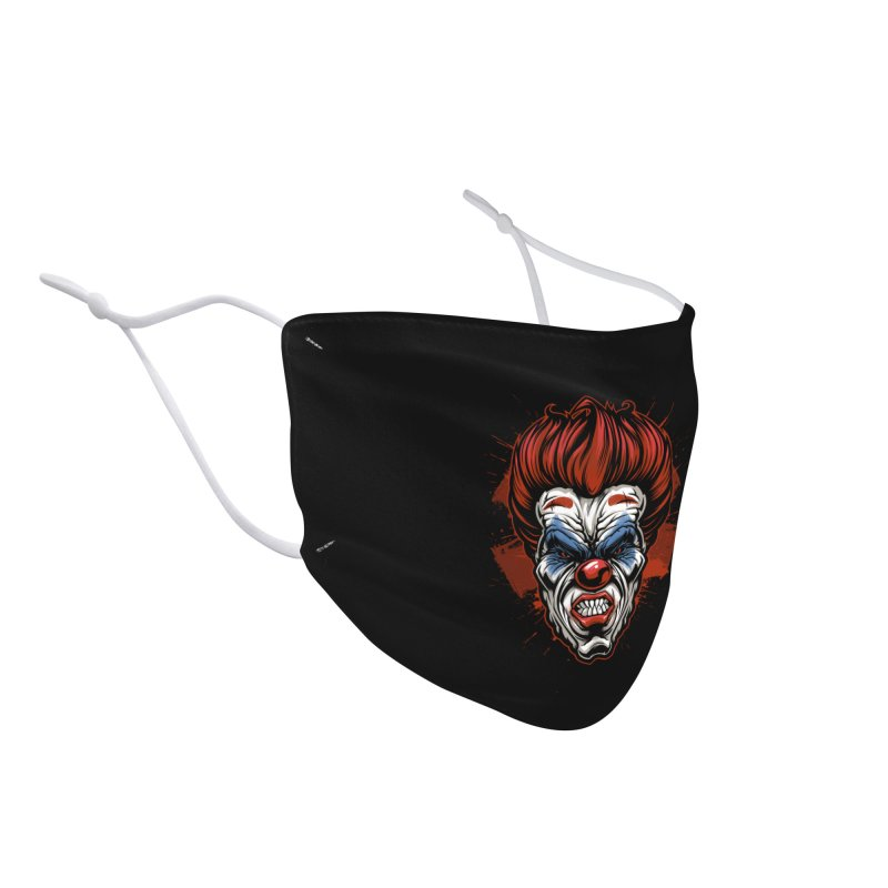 Evil clown Accessories Face Mask by fishark's Artist Shop