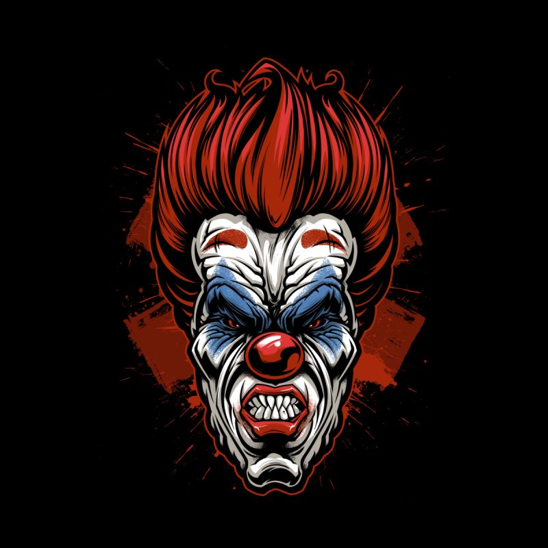 Evil clown Accessories Phone Case by fishark's Artist Shop