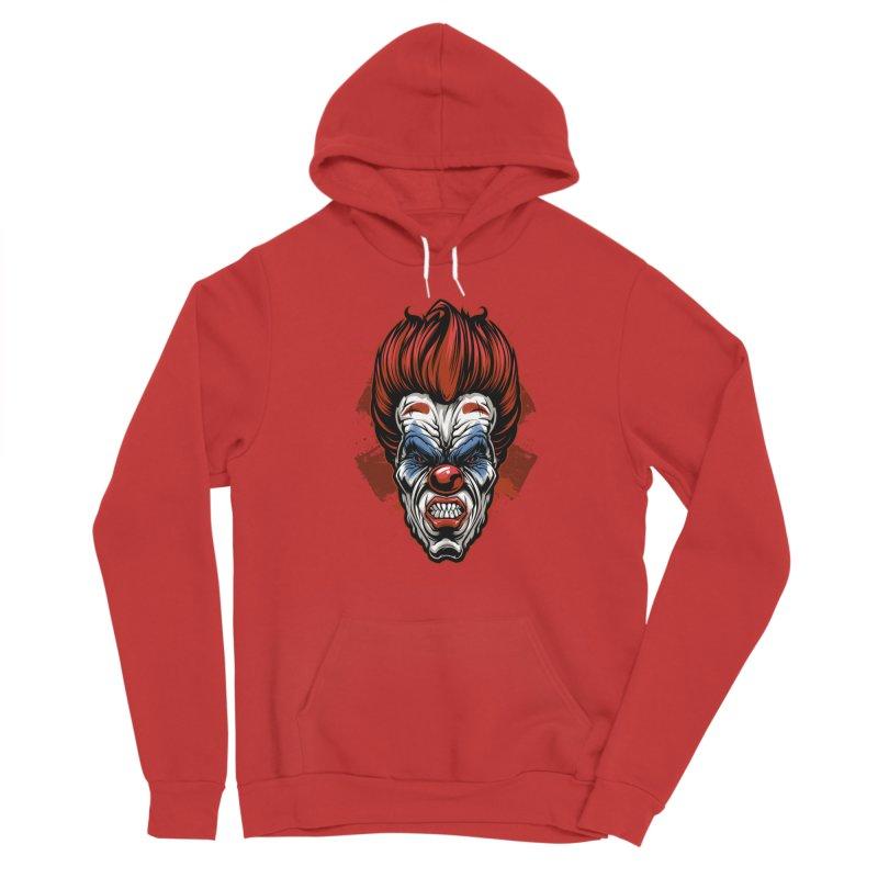Evil clown Men's Pullover Hoody by fishark's Artist Shop