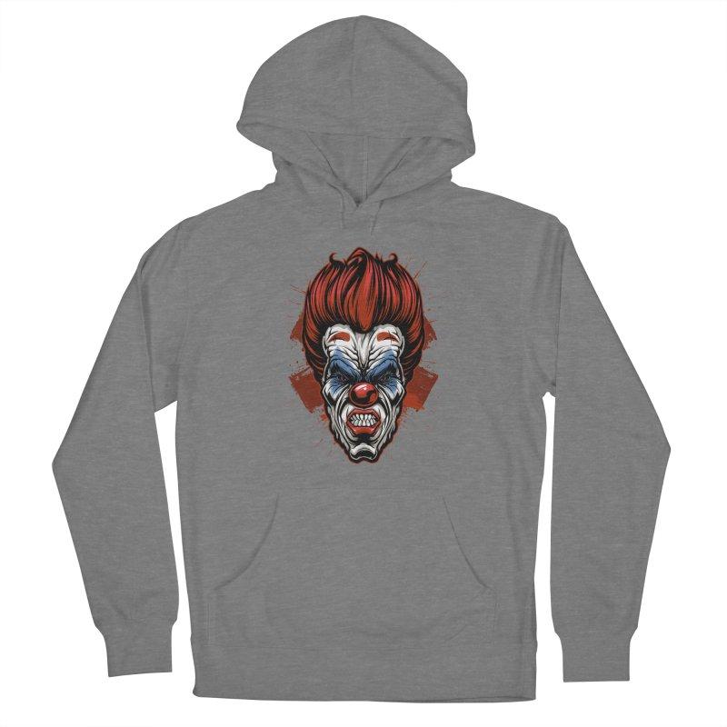 Evil clown Women's Pullover Hoody by fishark's Artist Shop