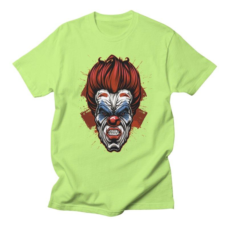 Evil clown Men's T-Shirt by fishark's Artist Shop