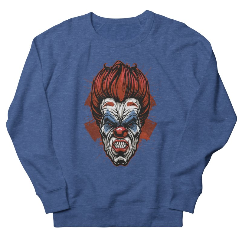 Evil clown Men's Sweatshirt by fishark's Artist Shop
