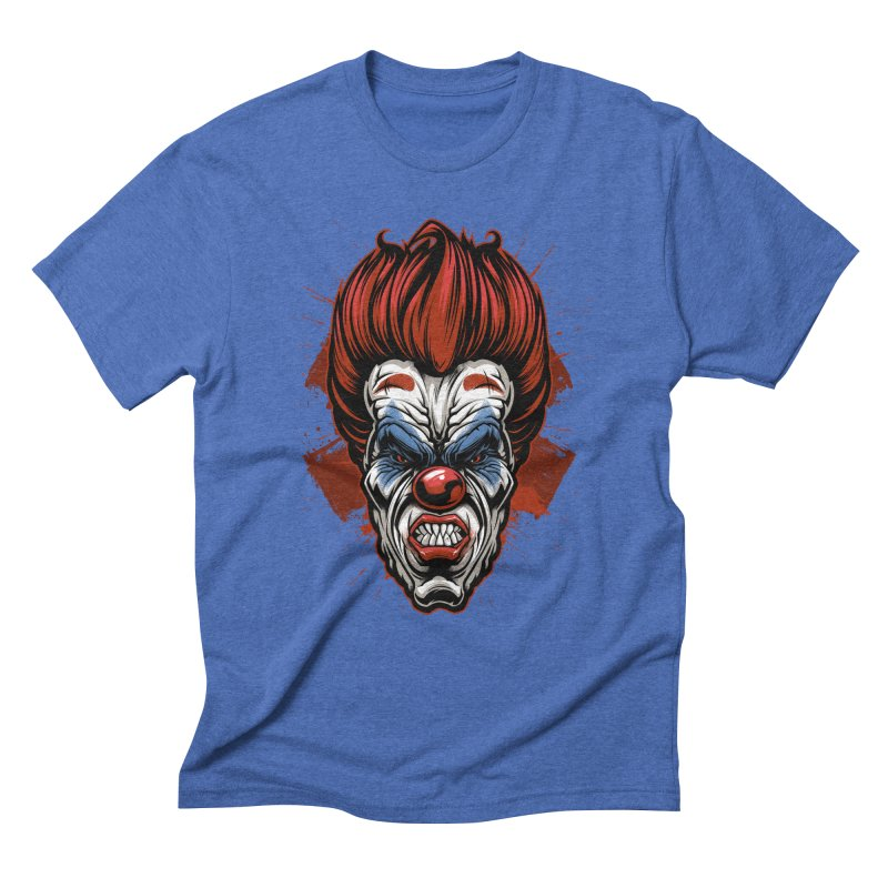 Evil clown Men's T-Shirt by fishark's Artist Shop