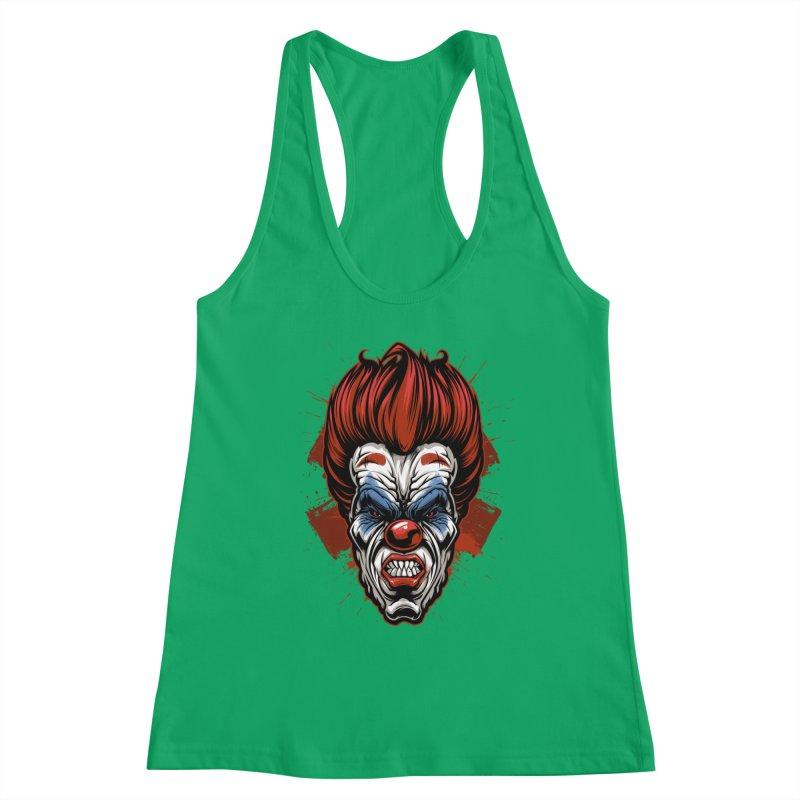 Evil clown Women's Tank by fishark's Artist Shop
