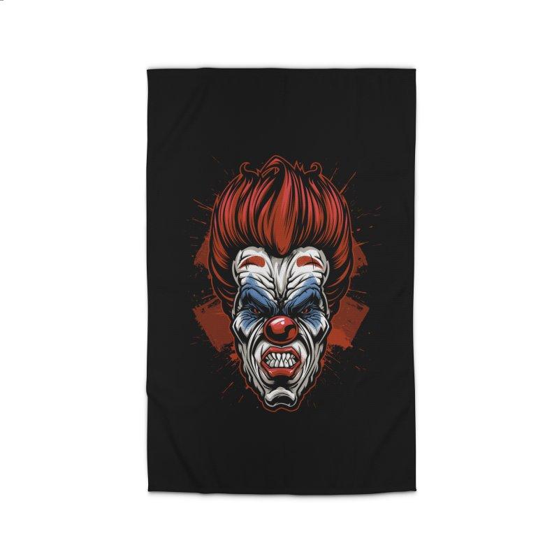 Evil clown Home Rug by fishark's Artist Shop