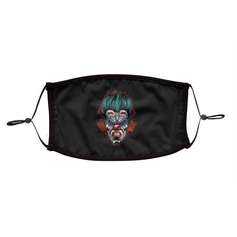 it ends Clown Accessories Face Mask by fishark's Artist Shop